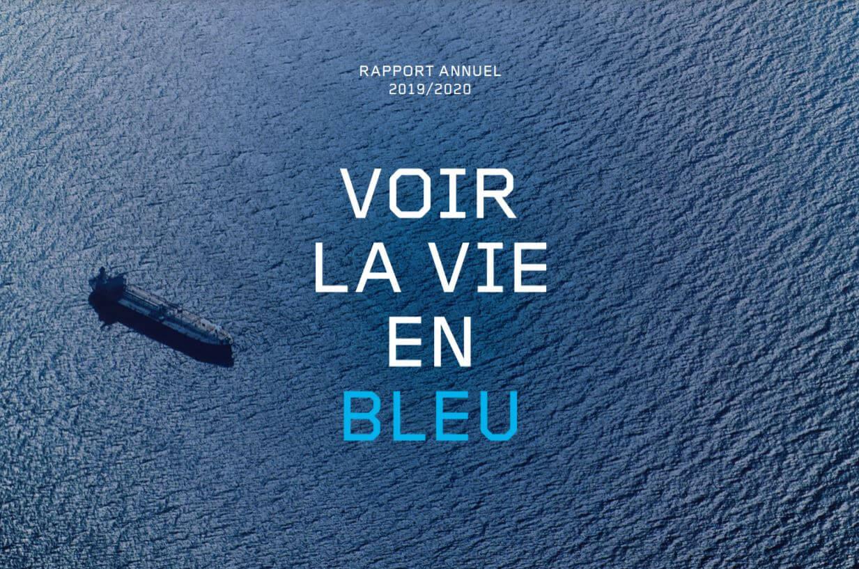 Rapport annuel ADF Voir la vie en bleu