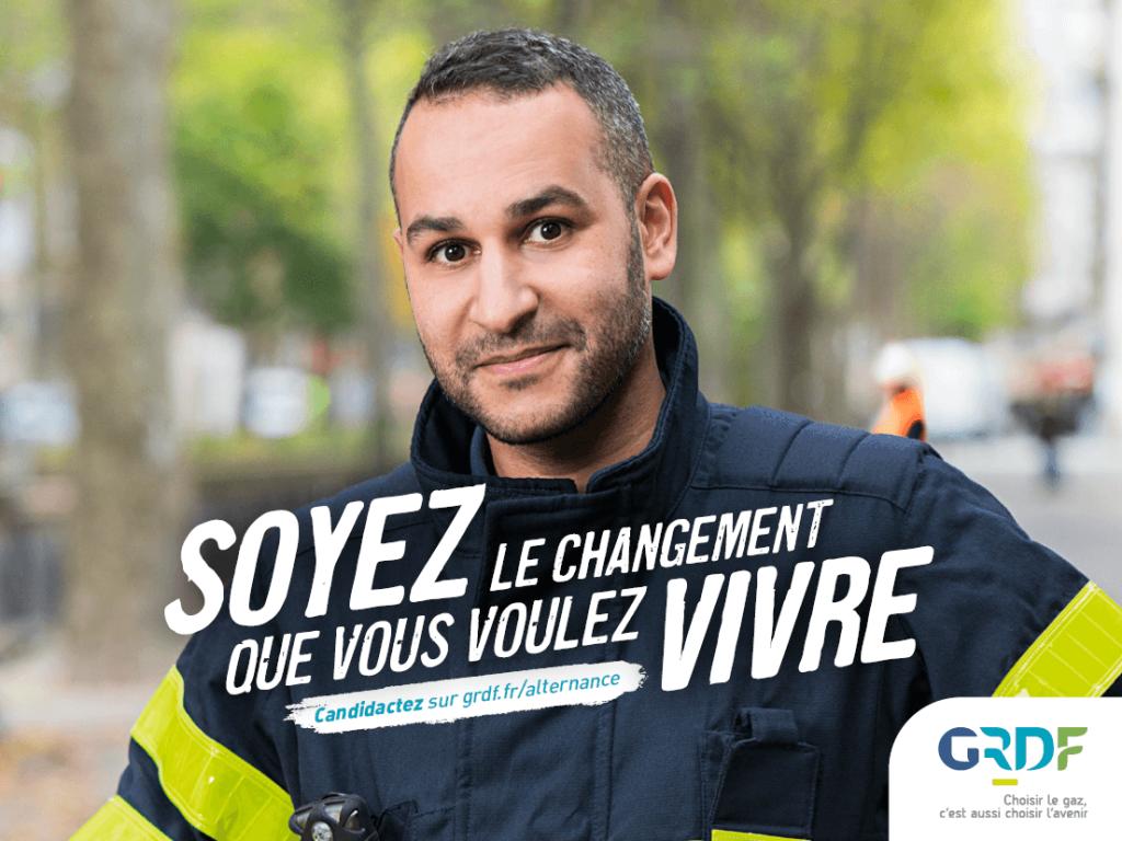 Campagne marque employeur GRDF